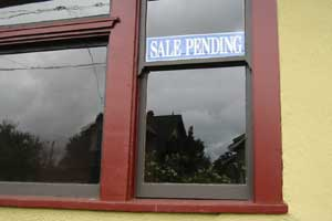 sale pending - step off!