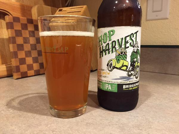 Tweet: I love fresh hop season. @bridgeportbrew hop harve…
