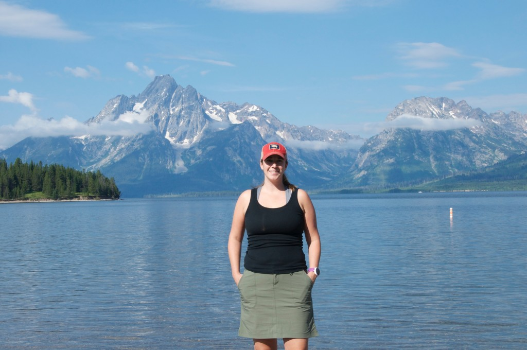 Michelle and the tetons