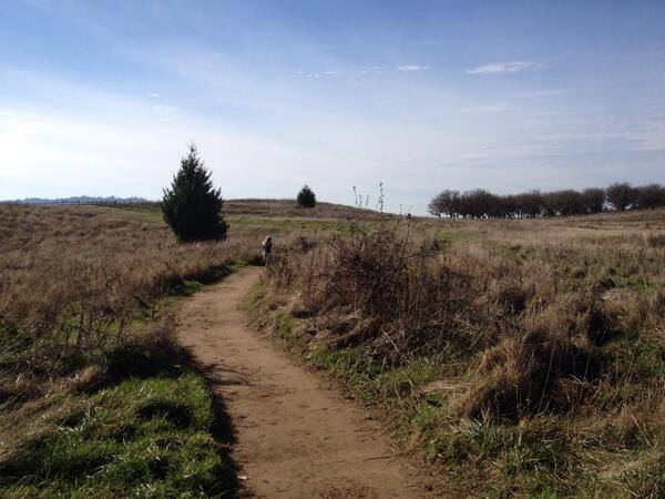 Tweet: Girls and I visited Powell Butte and experienced t…
