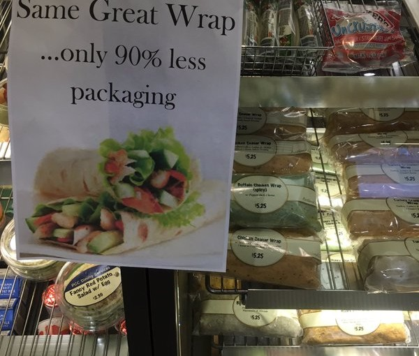Tweet: I had stopped buying the wraps because of all the…